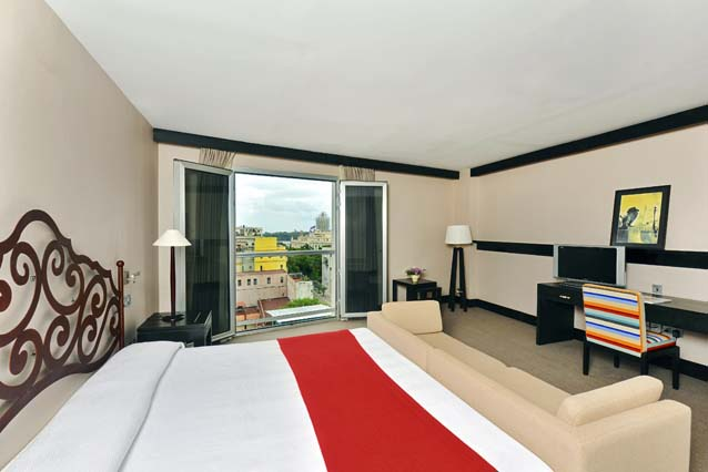 Showing slide 1 of 2 in image gallery showcasing Modern Double Room